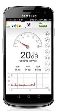 App de sonometro para medir ruidos