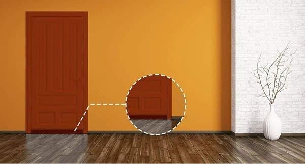 cinta de sellado interior de puerta