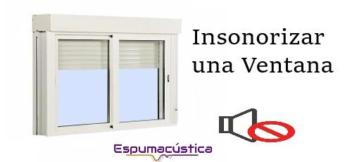 como insonorizar una ventana