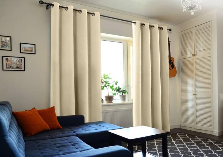 cortinas acústicas para ventanas